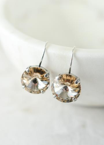 Penny in Light Silk-Earrings-Rachel Marie Designs-Lizzy's Pink Boutique