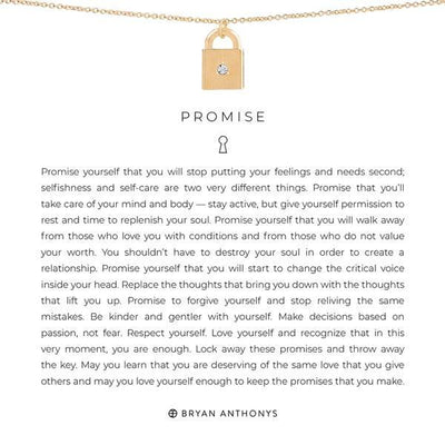 Promise-Bryan Anthony-Bryan Anthonys-Gold-Lizzy's Pink Boutique