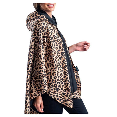 RAINCAPER Leopard Travel Cape-Raincaper-RainCaper-Lizzy's Pink Boutique