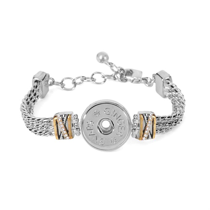York Mixed Metal Bracelet