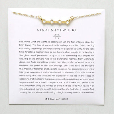 Start Somewhere-Necklace-Bryan Anthonys-Lizzy's Pink Boutique