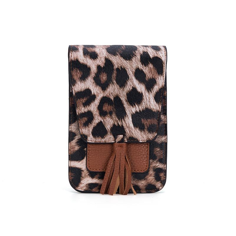 Tan Leopard Small Crossbody-Lizzy's Pink Boutique-Tan Leopard-Lizzy's Pink Boutique