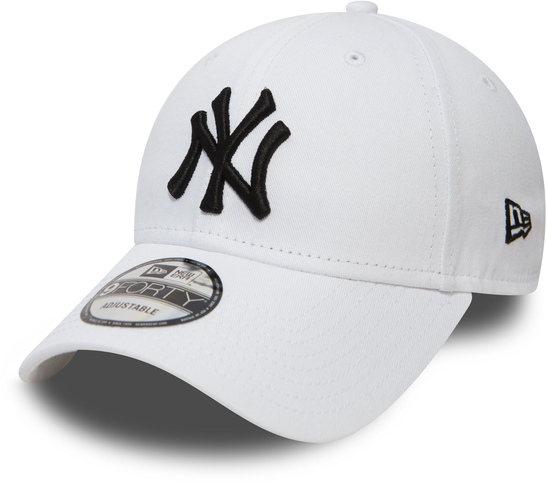 Embroidered Adjustable Baseball Cap New Season Color White Manchester United