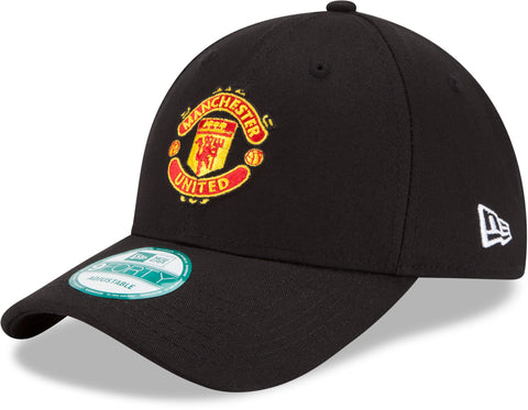 Manchester United New Era 940 Team Basic Black Cap - pumpheadgear, baseball caps