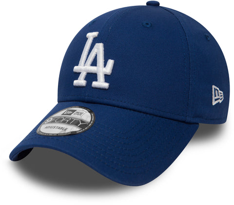 LA Dodgers New Era 940 League Essential Royal Blue Baseball Cap - pumpheadgear, baseball caps