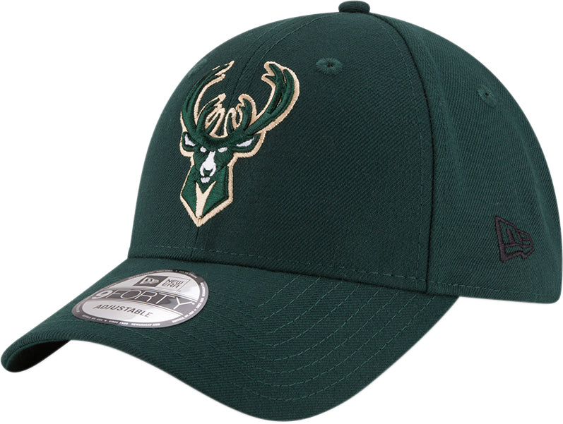Milwaukee Bucks New Era 940 The League NBA Cap - pumpheadgear, baseball caps
