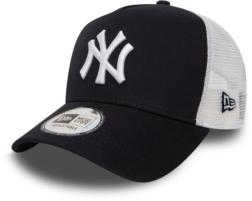 NY Yankees New Era Navy Clean Trucker Cap