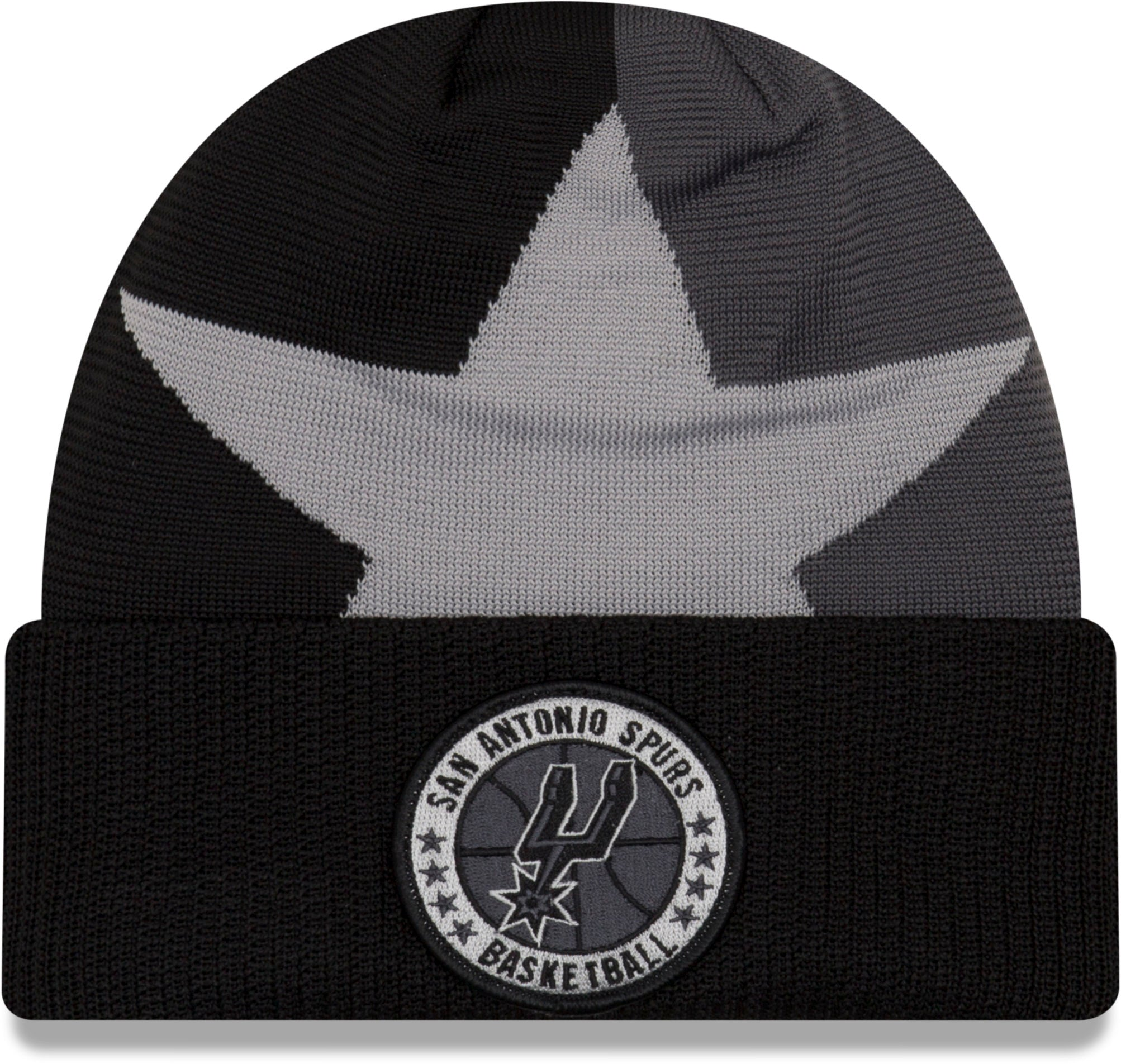 watch fc5f5 0cb40 ... coupon code for san antonio spurs nba 2018 tip off series new era knit  beanie 17c0d