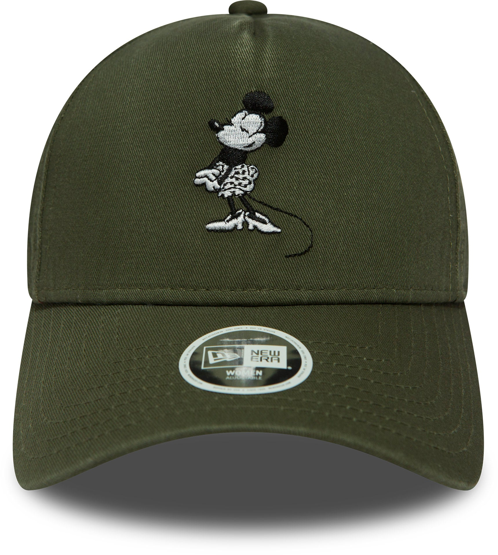 Minnie Mouse Womens New Era Disney Trucker Cap - Olive – lovemycap 75663a223de
