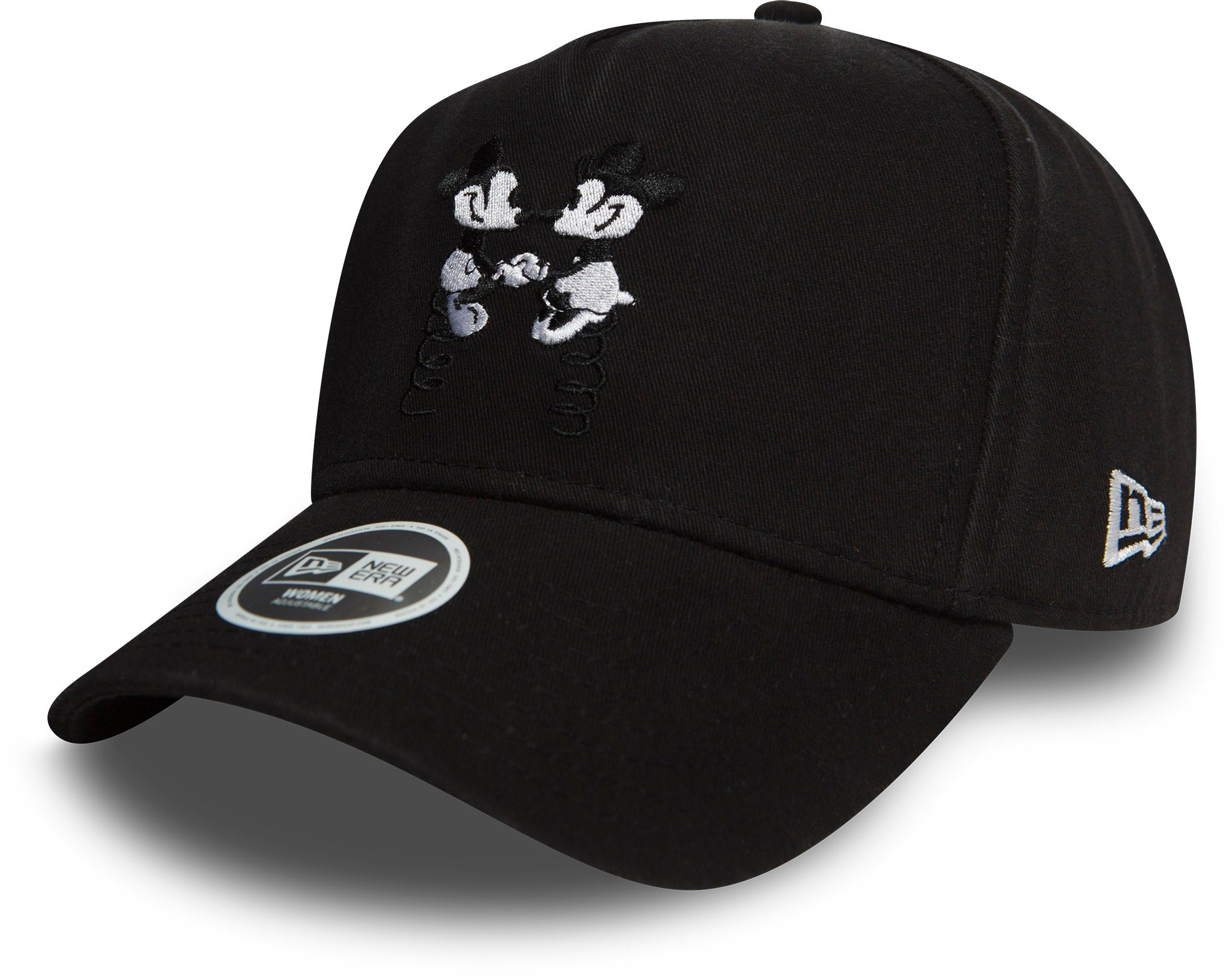 Minnie Mouse Womens New Era Disney Trucker Cap - Black – lovemycap 6ebedb8fcfc