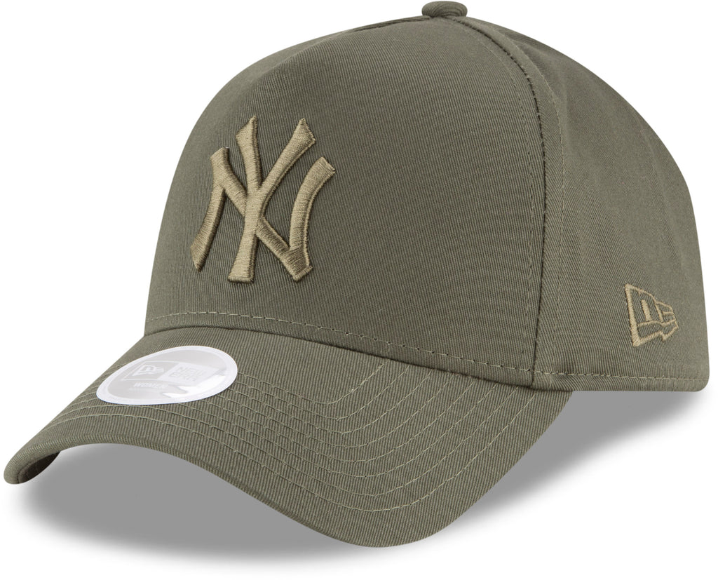 NY Yankees Womens New Era League Essential A-Frame Baseball Cap 959e32522127