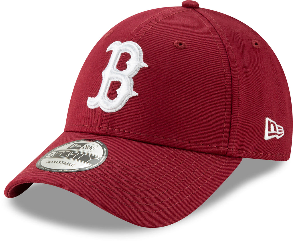 bf9afcaec45 Boston Red Sox New Era 940 Kids League Essential Cardinal Cap (Ages 2 - 10  years)
