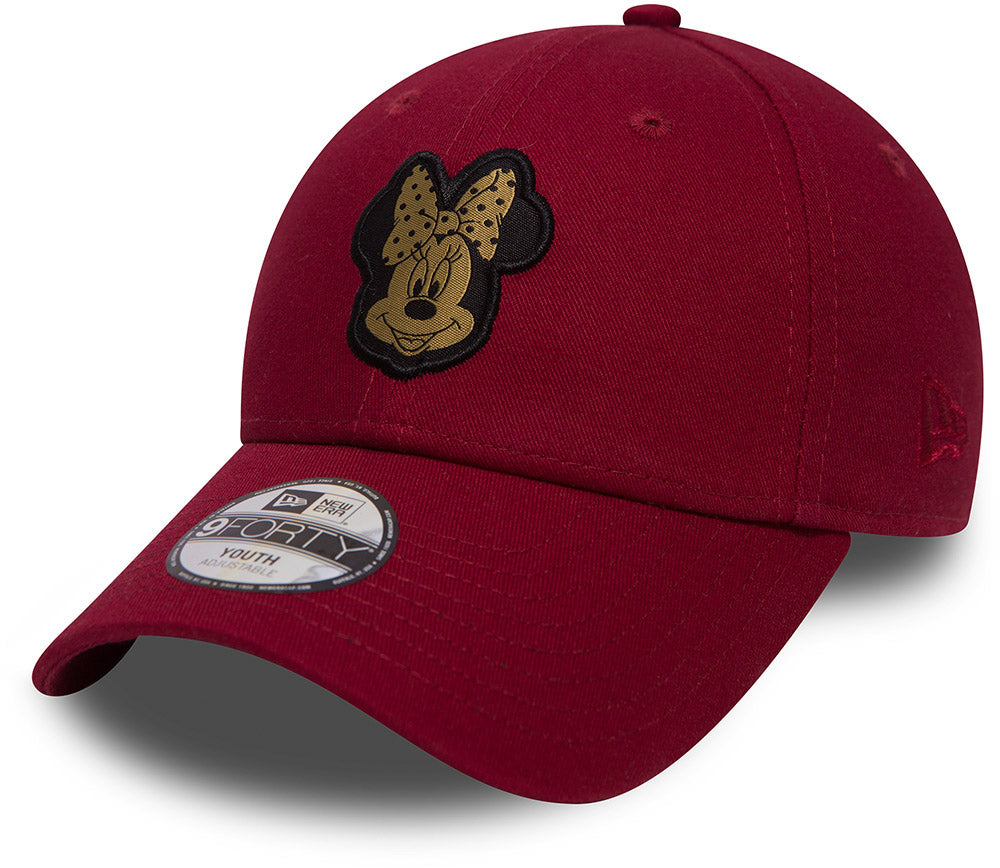 Minnie Mouse New Era 940 Kids Disney Character Cap (Ages 2 - 10 years)