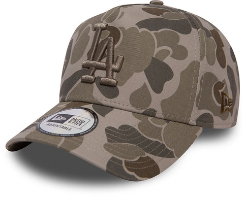 LA Dodgers New Era Camo A-Frame Baseball Cap - pumpheadgear, baseball caps