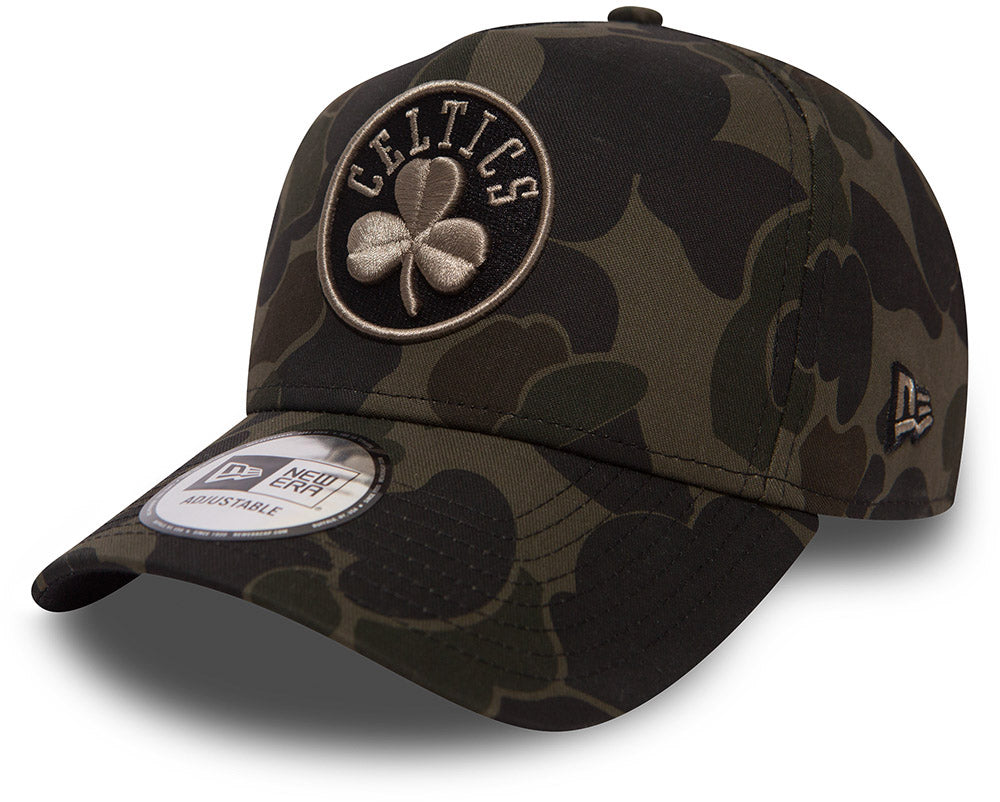 Boston Celtics New Era Camo A-Frame NBA Team Cap e68b1aacacbf