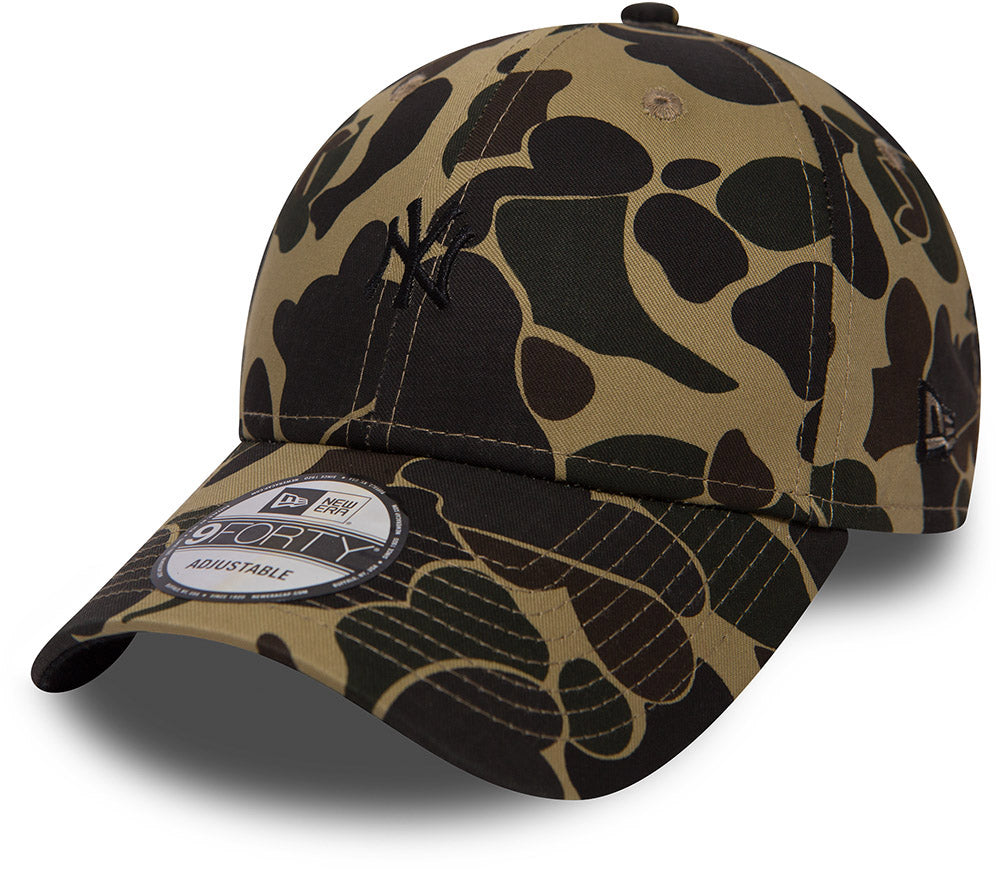 New York Yankees New Era 940 Camo Baseball Cap - pumpheadgear, baseball caps