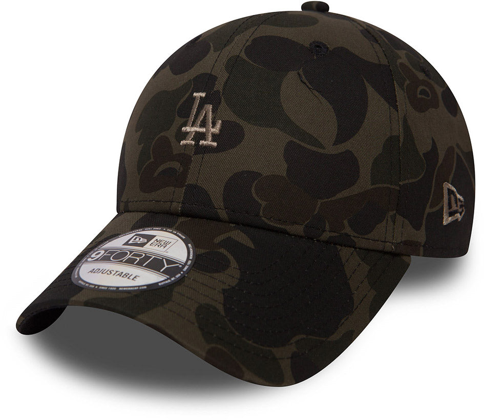 Los Angeles Dodgers New Era 940 Camo Baseball Cap