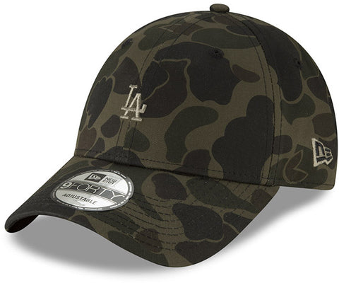 LA Dodgers Kids New Era Camo 940 Baseball Cap (Age 5 - 10 years) - pumpheadgear, baseball caps