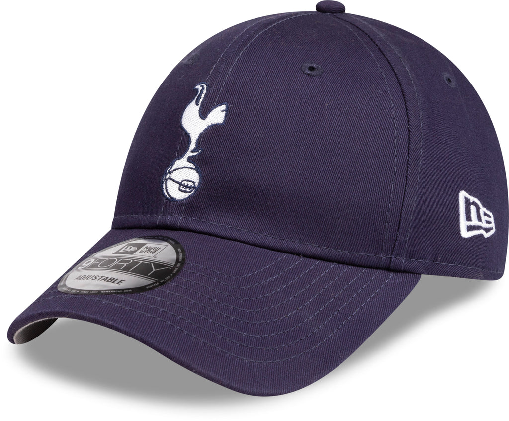 Tottenham Hotspur New Era 940 Essential Navy Cap - pumpheadgear, baseball caps
