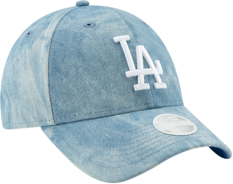 31317d53 LA Dodgers Womens New Era 940 Tie Dye Light Blue Baseball Cap ...