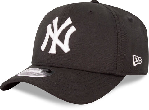 NY Yankees New Era 950 Black Stretch Snapback Cap - pumpheadgear, baseball caps