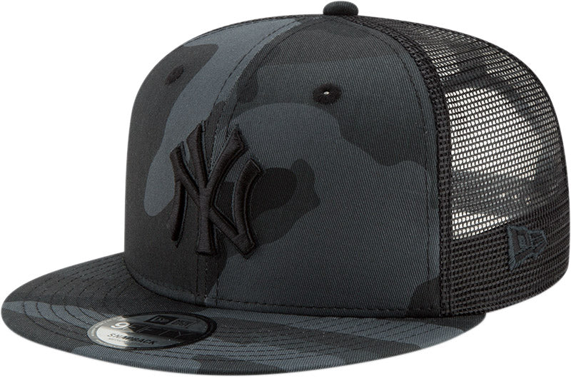 NY Yankees New Era 950 League Essential Midnght Camo Snapback Cap