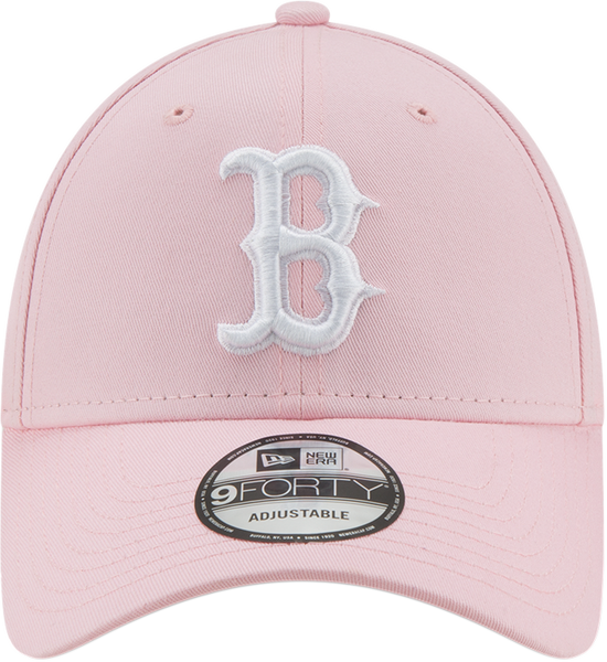 e61e1f1edbb ... Boston Red Sox Womens New Era 940 League Essential Pink Baseball Cap -  pumpheadgear