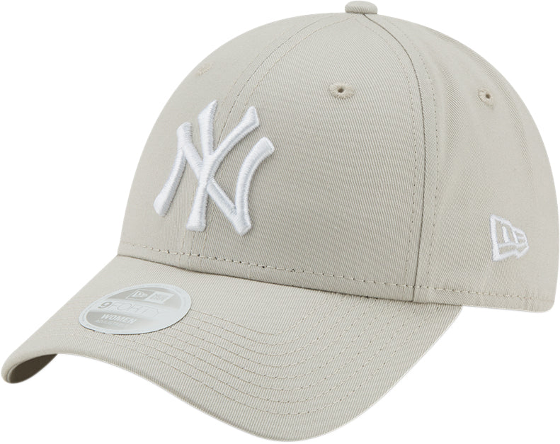NY Yankees Womens New Era 940 League Essential Stone Baseball Cap 549297cde229
