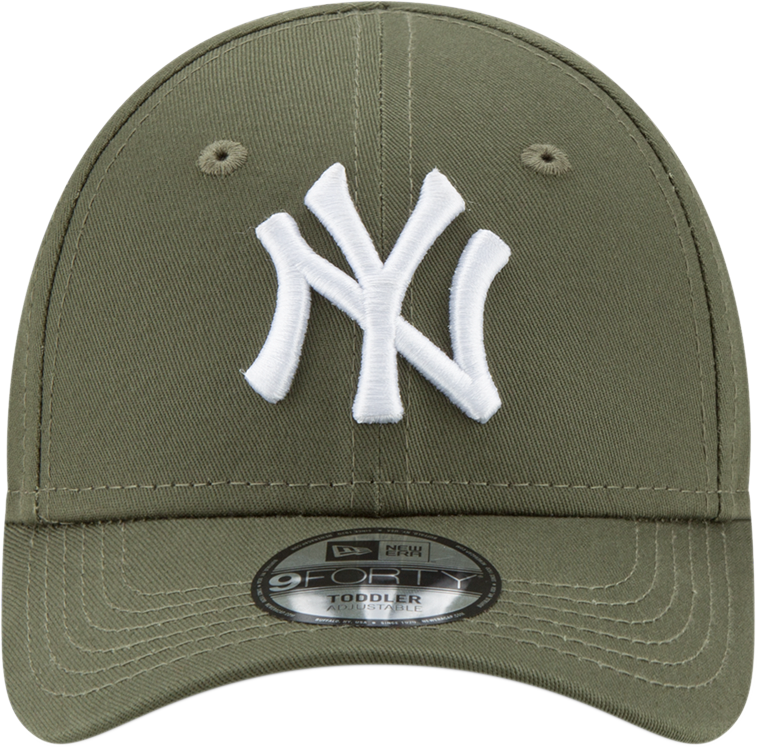ec59478e02b495 NY Yankees New Era 940 Kids League Essential Olive Cap (Ages 2 - 10 ye –  lovemycap