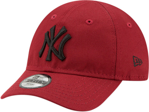 NY Yankees New Era 940 Stretch Fit Infants Red Cap (0-2 years)