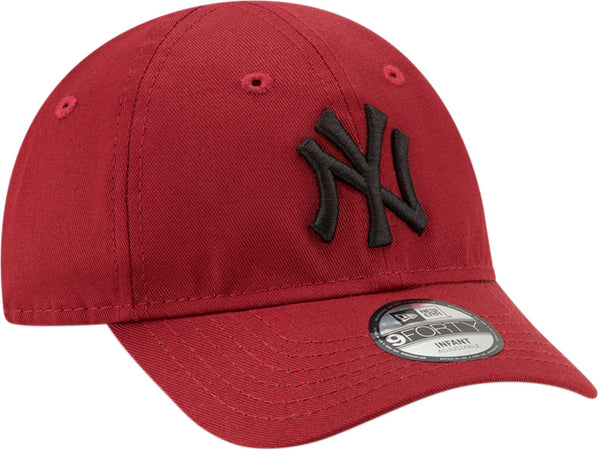 fbd7555fb ... NY Yankees New Era 940 Stretch Fit Infants Red Cap (0-2 years) ...