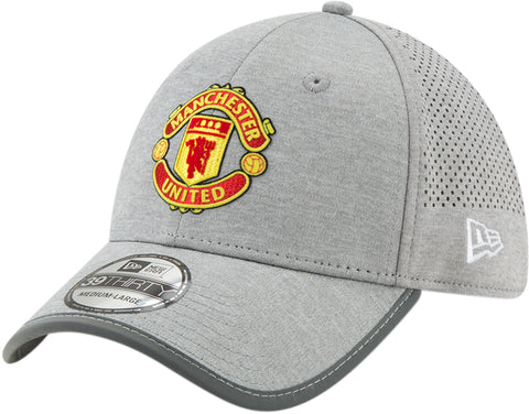 Manchester United New Era 3930 Jersey Marl SP19 Grey Stretch Fit Cap