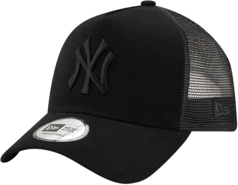 47e236159e4 NY Yankees New Era Essential Jersey E-Frame Black Cap – lovemycap