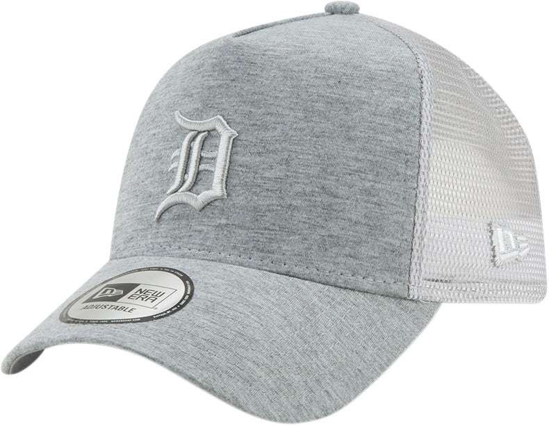 5f398c72 Detroit Tigers New Era Essential Jersey E-Frame Grey Cap - pumpheadgear,  baseball caps ...