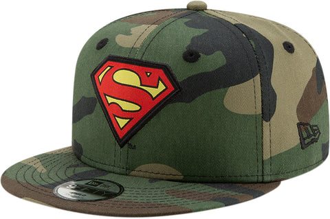 Superman New Era Kids 950 Camo Character Snapback Cap (Age 4 - 10 years)