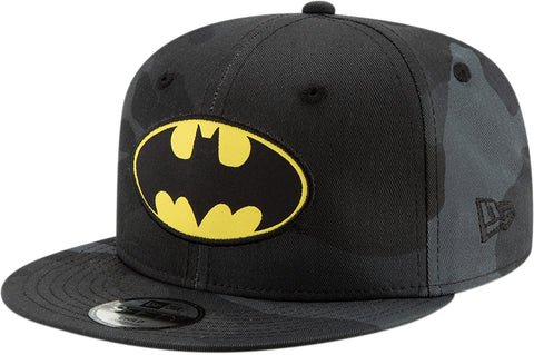 Batman New Era Kids 950 Camo Character Snapback Cap (Age 4 - 10 years) - pumpheadgear, baseball caps