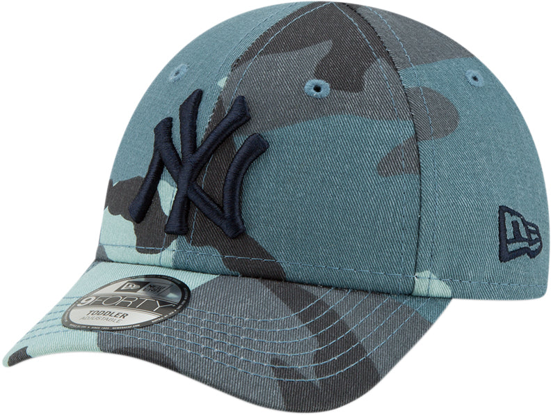 NY Yankees New Era Kids 940 Camo Fabric Baseball Cap (Ages 2 - 10 year –  lovemycap d232fcb81f3b