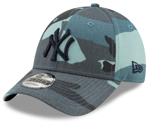 NY Yankees New Era 940 Camo Essential Baseball Cap