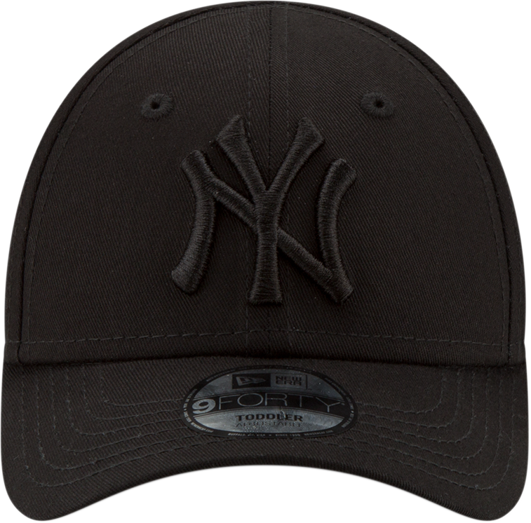 26d0aef88d8d7 NY Yankees New Era Kids 940 All Black Snapback Baseball Cap (Ages 2 - 10  years)