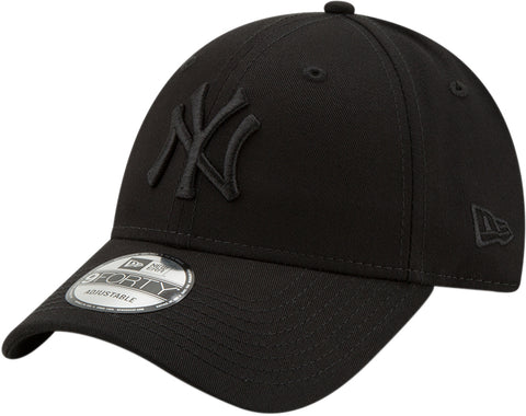 NY Yankees New Era 940 All Black Snapback Cap