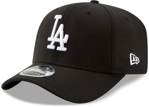LA Dodgers New Era 950 Black Stretch Snapback Cap - pumpheadgear, baseball caps