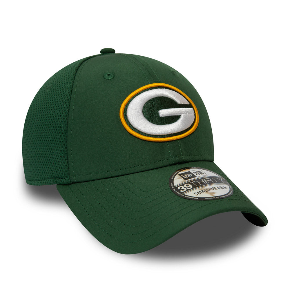 5c8ee465 Green Bay Packers New Era 3930 NFL Featherweight Stretch Fit Cap ...