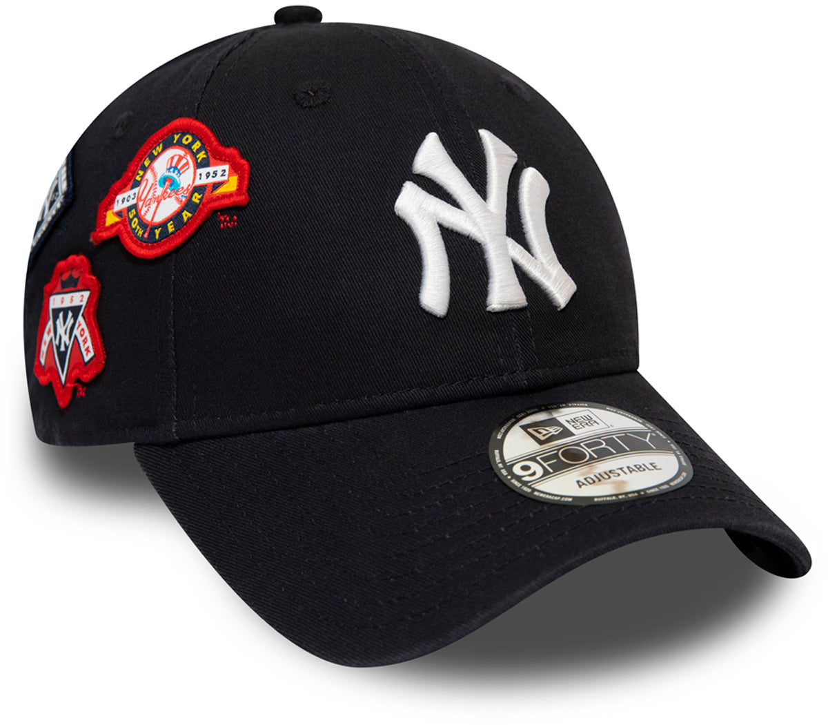 b7a6570c8 NY Yankees Cooperstown Patched New Era 940 Baseball Cap