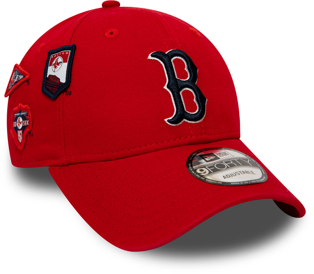 Boston Red Sox Cooperstown Patched New Era 940 Baseball Cap