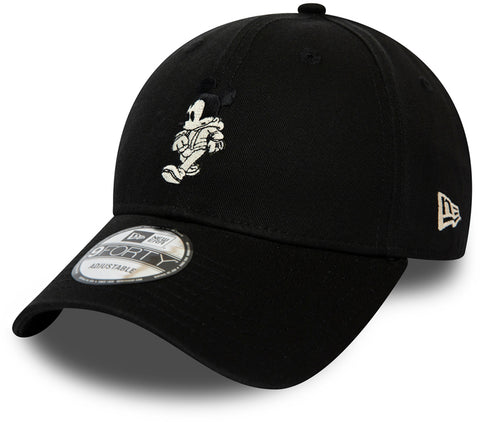 Street Mickey New Era 940 Black Baseball Cap