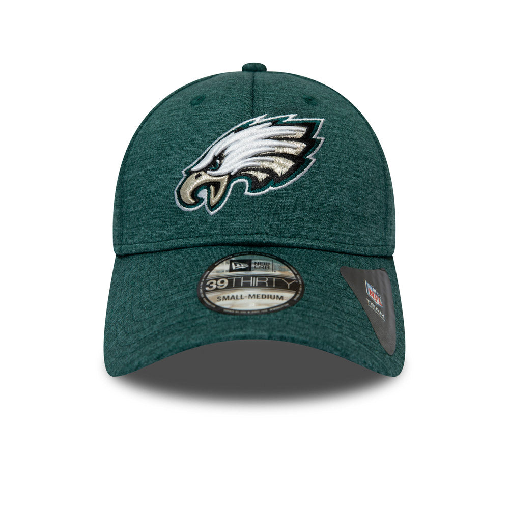 34140e19f9599a Philadelphia Eagles New Era 3930 NFL Shadow Tech Stretch Fit Cap ...