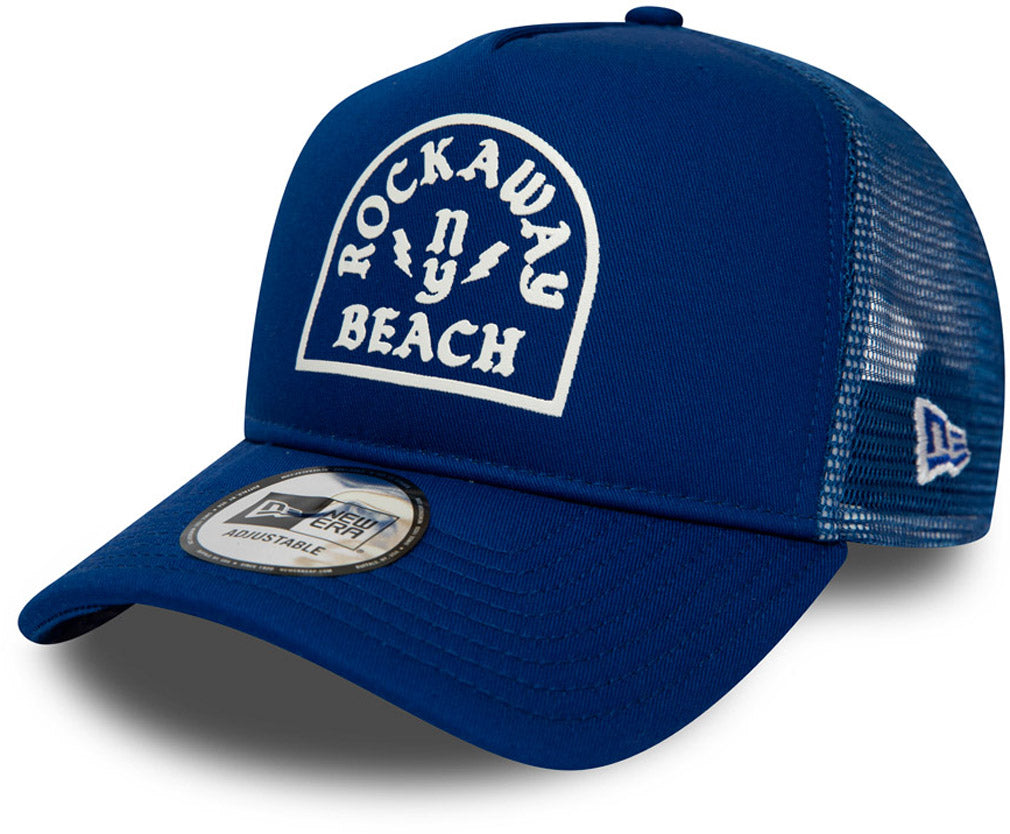 Rockbay Beach New Era Royal Blue Trucker Cap