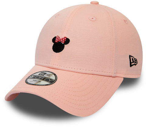 Minnie Mouse New Era 940 Kids Disney Character Pink Cap (Ages 2 - 10 years)