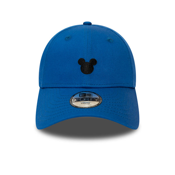 the best attitude dbe6a 9b3d7 ... Mickey Mouse New Era 940 Kids Disney Character Blue Cap (Ages 2 - 10  years ...