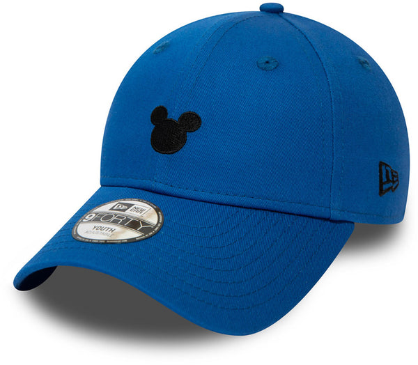 buy popular abe5e 19afa Mickey Mouse New Era 940 Kids Disney Character Blue Cap (Ages 2 - 10 years  ...